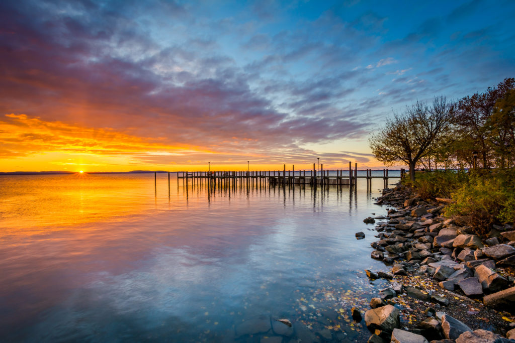 Chesapeake Bay at sunset