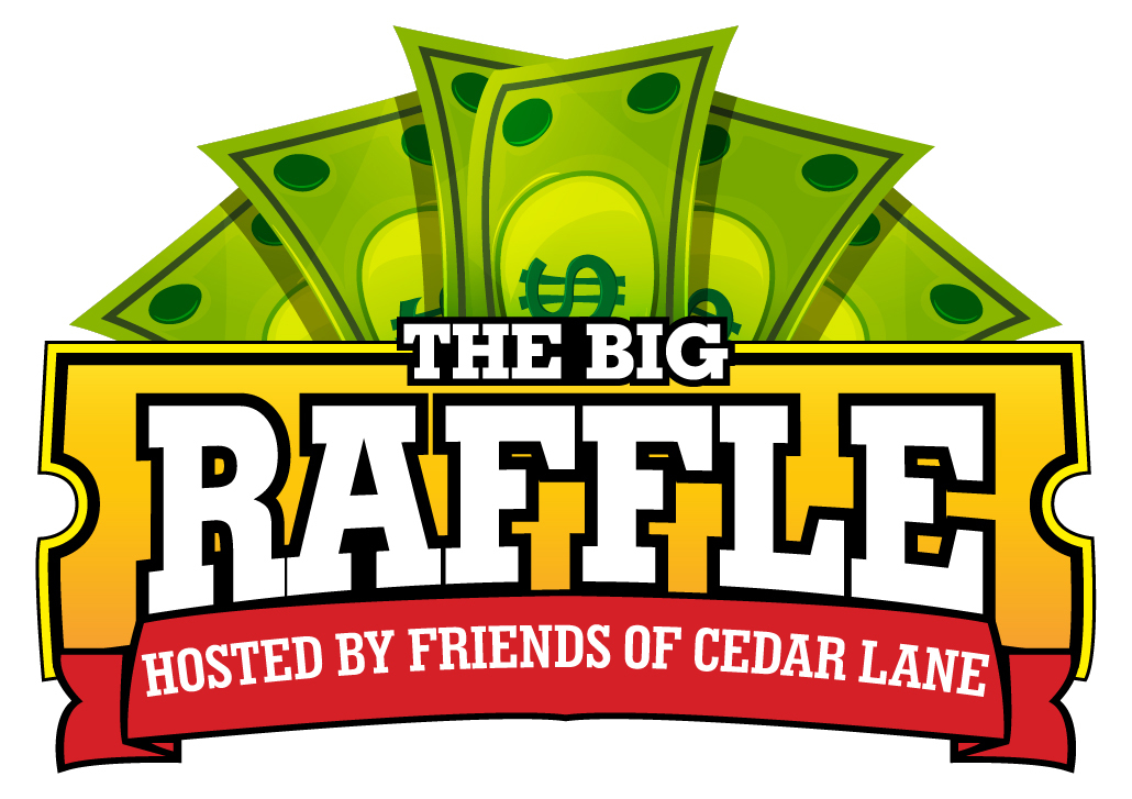 The Big Raffle Logo