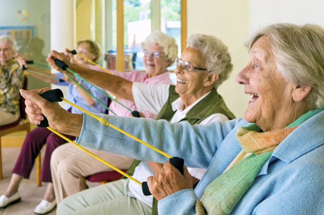 Activities at Cedar lane senior Living community